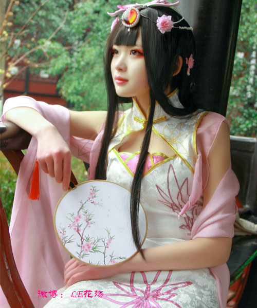 最美coser_最美古装coser_最美古风coser_cosplay_LE花殇